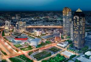 Plans for the Dallas Arts District
