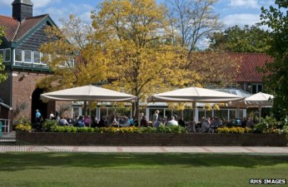 The Conservatory Cafe at Wisley...