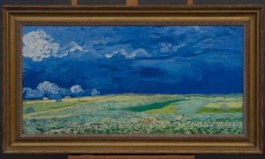 The 3D replicas of Van Gogh's work, including Wheatfield under Thunderclouds, above, are almost indistinguishable from the originals, say museum curators Photograph: © Van Gogh Museum Amsterdam